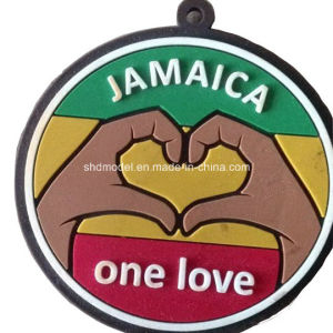 One Love Rubber Gift Keychain (OEM order) pictures & photos