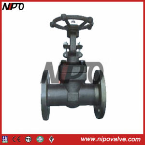 API 6D Flanged Forged Steel Gate Valve pictures & photos