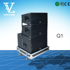 Q1 Double 10inch 2-Way Line Array Speaker for PA System