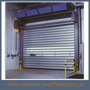China Commercial Interior Hard Metal Security Roll Up Door Best Selling  HMD 005