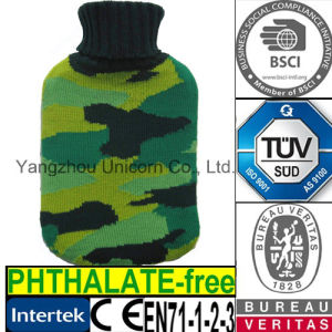 CE Knit Camouflage Hot Water Bottle Cover Soldier