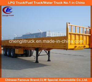 40ft 3 Axle Cargo/Side Wall/ Wall Side Truck Semi Trailer pictures & photos