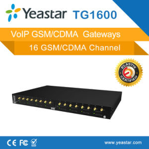 1/2/4/8/16 GSM Channel/ CDMA Channel/ WCDMA Channles for SIM Card VoIP GSM Gateway pictures & photos