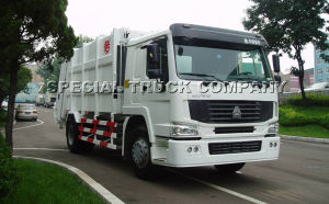 Sinotruk HOWO Rear Garbage Truck 16cbm pictures & photos