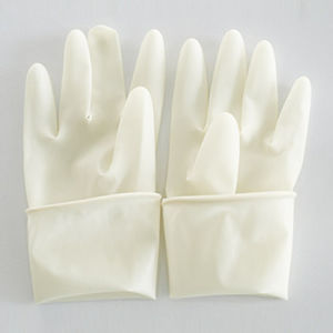 Disposable Latex Surgical Gloves for Medical Use pictures & photos