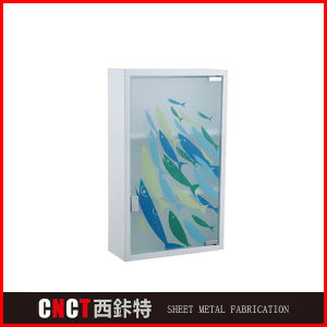 Stainless Steel Modern Wall Mounted Bathroom Mirror Medicine Cabinet pictures & photos