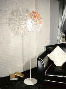 Snowflake Decoration Livingroom Floor Lamp (983F3) pictures & photos