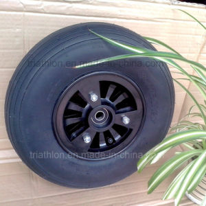 4.00-6 3.50-5 Tt Ribbed Airfilled Tire with Nylon Rim