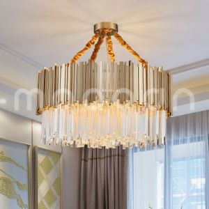 Modern Artistic Simple Luxury Crystal Chandelier for Living Room