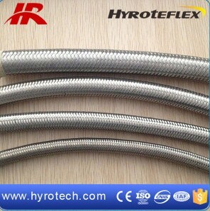 Flexible PTFE Hose/Stainless Steel Braided PTFE Hose SAE 100r14 pictures & photos