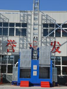 Safety Passenger Hoist /Double Cage, Construction Site Passenger Hoist pictures & photos