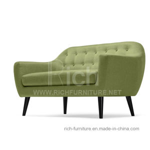 Life Style Modern Leisure Fabric Sofa for Living Room (2seater) pictures & photos