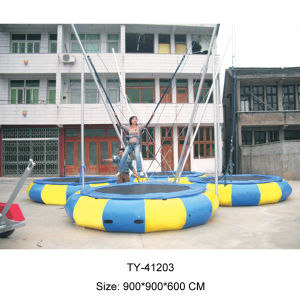 Outdoor Bungee Jumping Trampoline for Sale (TY-41203) pictures & photos