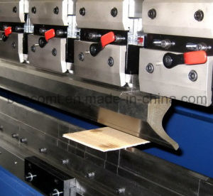 Electric-Hydraulic Synchronous CNC Press Brake pictures & photos