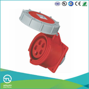 Utl Uz-240 Industrial Plug Plastic Waterproof Socket 5pin 32A 400V pictures & photos