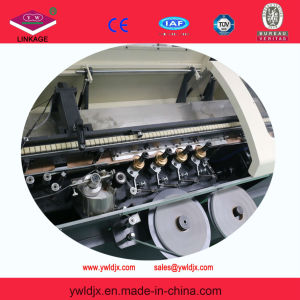 Fully Automatic Glue Exercise Book Office Notebook Making Line Reel to Ready Notebook (Type: LDGNB760Z) pictures & photos