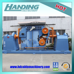 Aluminum Alloy Roller Foaming Double Twist Bunching Machine pictures & photos