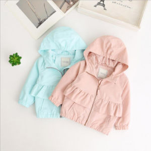 c896b2a38 Long Sleeves Coat & Down Jacket in Spring for Baby Girls
