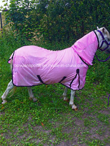 Horse Fly Rug Combo Attached Neck Pink