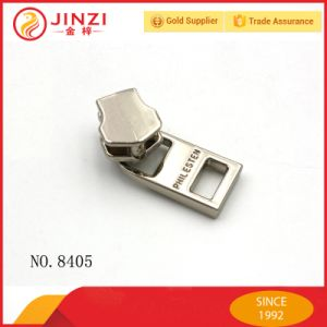 Elegant Sliver Metal Zipper Pullers for Handbag Zinc Alloy Zippers Pull pictures & photos