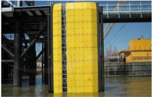 UHMWPE Marine or Dock Fender Panel