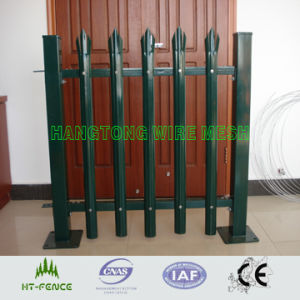 Galvanized and PVC Coated Palisade Fence pictures & photos