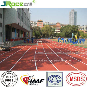 China Spray Coating Rubber Athletic Track pictures & photos