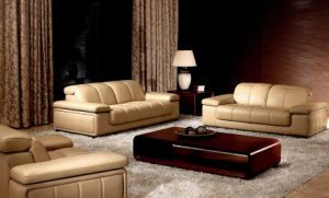 Recliner Sofa /Modern Leather Sofa (HD-176)