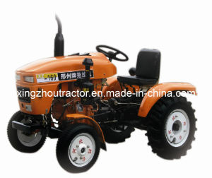 Wheeled Small Greenhouse Tractor 16HP (XZ-160N)