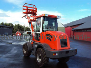 ER12 Multi-Function Wheel Loader With Pallet Forks pictures & photos