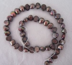 Brown Baroque Pearl, Freshwater Pearl, Pearl (BRQ0910BR) pictures & photos