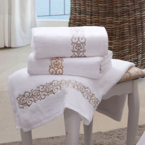 600g Bath Towel for Hotel Bathroom Linens (DPF201627) pictures & photos