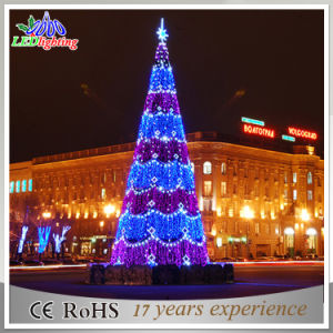 outdoor christmas decoration light artificial led giant christmas tree