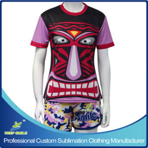 Custom Made Sublimation Girl′s Sporting Lacrosse Suit pictures & photos