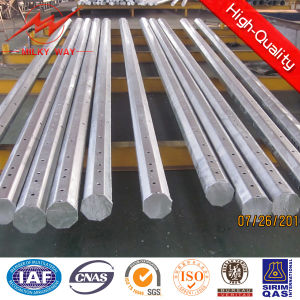 Galvanized Steel Poles 12m Electric Pole Utility Pole Delivery Time