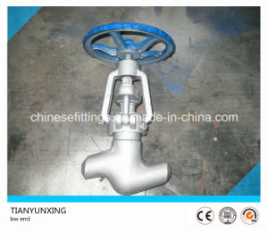 Bw End API Forged Carbon Steel Globe Valve pictures & photos