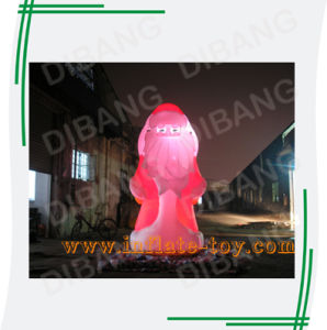 Inflatable Light Santa Claus (DB-89)