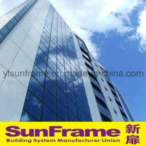 Aluminium Unitized Glazing and Composite Panel Curtain Wall System pictures & photos