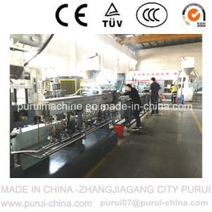 Counter Parallel Twin Screw Extruder for PC Pelletizing (TSSK65) pictures & photos