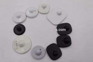 Anti Theft RF 8.2MHz EAS Square Hard Tag for Garments pictures & photos