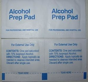 Alcohol Prep Pad (CE, ISO) pictures & photos
