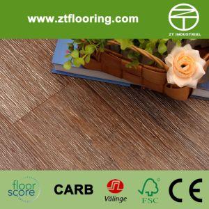 Strandwoven Brush Coffee White Bamboo Flooring