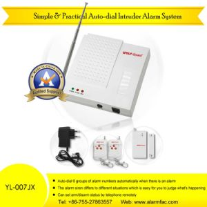 Simple & Practical Wireless Auto-Dial Intruder Alarm System (YL-007JX) pictures & photos