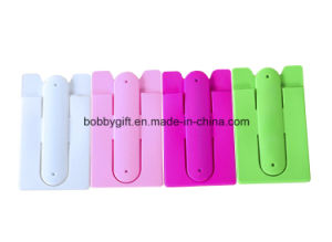 Wholesale Plastic Silicone ID Card Holder Cellphone Support pictures & photos