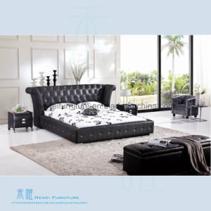 High Quality Soft Chesterfield Bed Of Bedroom Furniture (HW K233B)