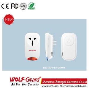 WiFi/GSM Wireless Smart Home Power Plug Sk Socket pictures & photos