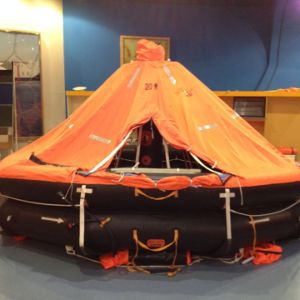 kHz Self-Righting Type Inflatable Life Raft with container pictures & photos