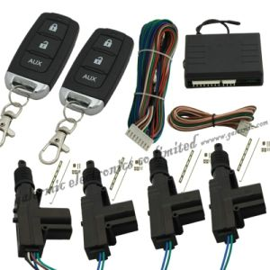 China Car Central Door Locking System By Two Remote China Central