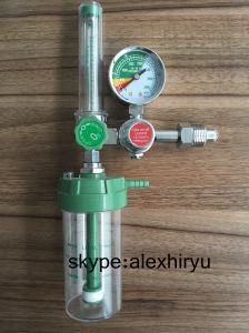 Brass Medical Oxygen Regulator Gas Cylinder Pressure Regulator pictures & photos
