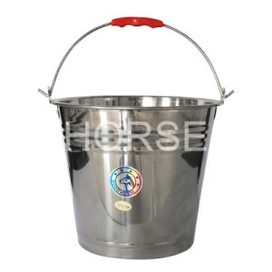 Stainless Steel Water Bucket (ST-001)